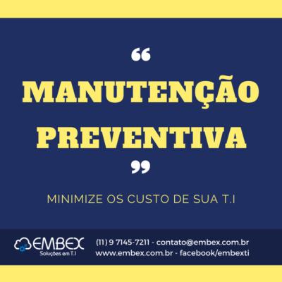 EMBEX - Manutenção Preventiva 1